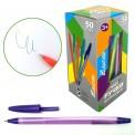 Ручка J.Otten 814 прозрачная, флюо, ароматиз. цвет корпуса ассорти стержень 0,5мм/142мм
