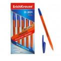 Ручка E.Krause 43194 R-301 Orange 0.7мм, шариковая, синяя